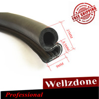 6M 240 Car Rubber Edge Trim Lok Sealing Strip Noise Insulation Weatherstrip Car Truck Van Vehicle