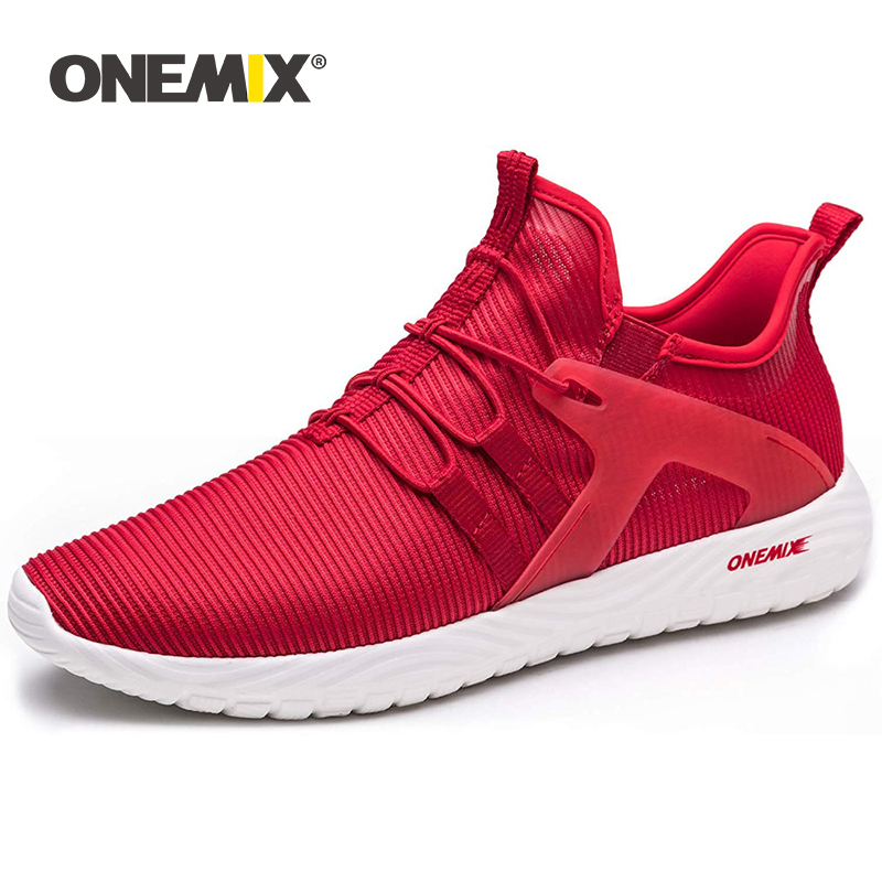 ONEMIX Summer Lightweight Running Shoes for Men Loafers Black Mesh Air Breathable Designer Jogging Sneakers Outdoor Sports Shoes