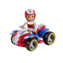 Paw Patrol dog Ryders Rescue ATV Vehicle and Figure figure toy Puppy Dog Car patrulla Patrulla Kids Toys