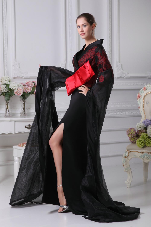 Japanese Black Prom Dresses