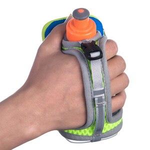 Image 3 - AONIJIE E907 Running Hand free Hand held Water Bottle Holder Wrist Storage Bag Hydration Pack Hydra Fuel Flask Marathon Race
