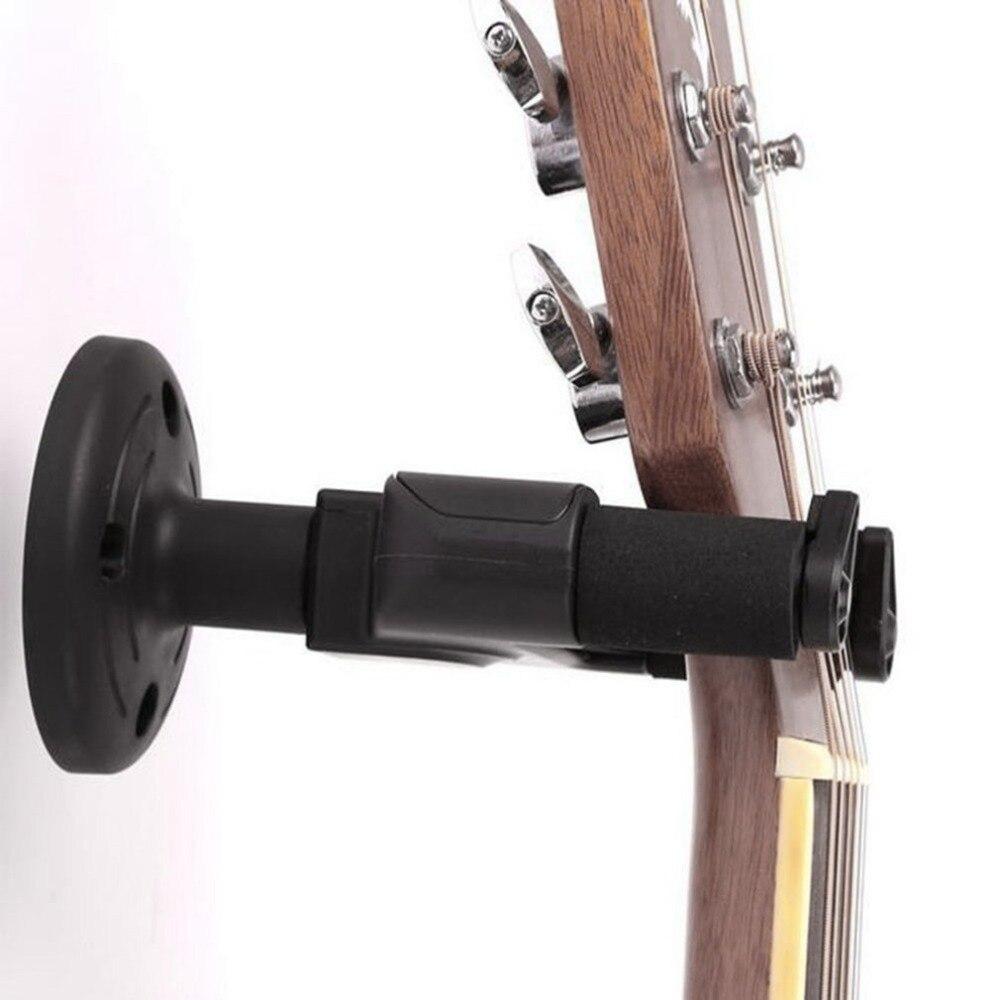 electric acoustic guitar hanger holder stand rack hook wall mount for all size guitar set 2018. Black Bedroom Furniture Sets. Home Design Ideas