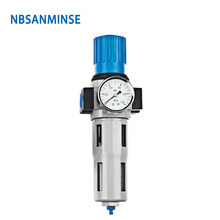 NBSANMINSE M5 1/8 1/4 3/8 1/2 3/4 1 Filter Regulator One Units FRL Air source equipment units Air compressor parts все цены