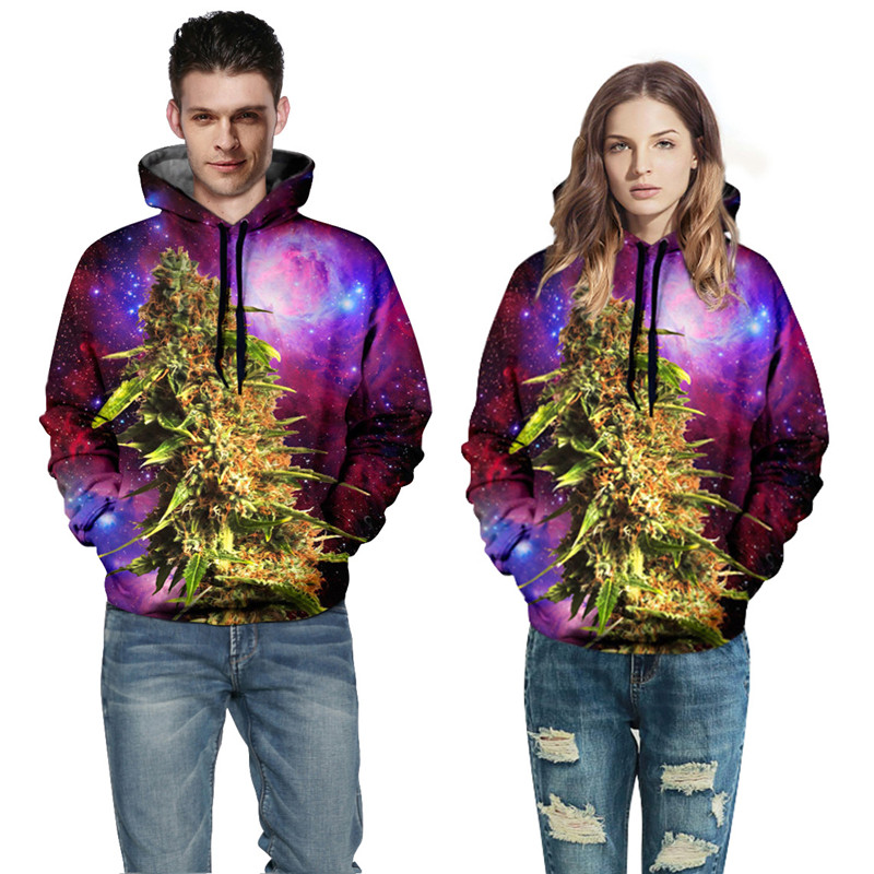 New era seiko red star digital printing for men and women with a cap fleece casual joker qiu dong outfit, hooded fleece