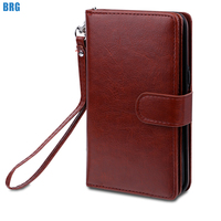 BRG For Samsung S8 Case Luxury Soft Silicone TPU Protective Magnetic Wallet Leather Phone Case For