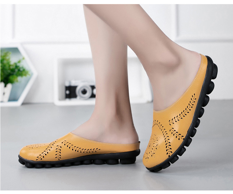 XY 991 Cut Outs Women's Summer Flats Shoes -20