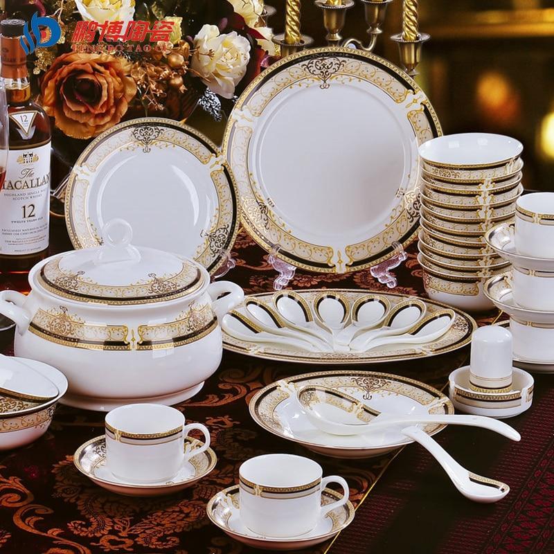 Luxurious 28pcs A Set Bone China Dinnerware Sets Home Garden Banquet Party Dishes Tableware Free Shipping-in Dinnerware Sets from Home \u0026 Garden on ... & Luxurious 28pcs A Set Bone China Dinnerware Sets Home Garden Banquet ...