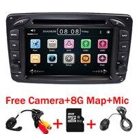 2din 7 polegada DVD PLAYER DO CARRO Para Mercedes Benz W203 W168 W209 M ML W463 W163 W639 Viano Vito Vaneo 3g GPS BT Rádio USB SD Mapa Livre