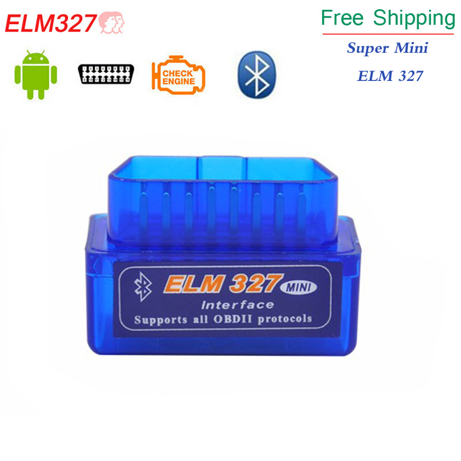 2019 Super Mini ELM327 Bluetooth Interface New V2.1 Auto OBDII OBD2 Diagnostic Scann Tool Mini ELM327 Works On Android