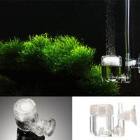 4 In 1 Aquarium CO2 Diffuser Regulator Check Valve Bubble Counter U Shape Tube Sucker Fish