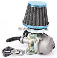 Hand Choke Carburetor Carb Intake Pipe Air Filter Fuel Filter 70cc 90cc 110cc For motorcycle Quad ATV