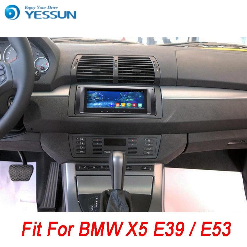 YESSUN Pour BMW X5 E39/E53 1996 ~ 2007 Android Voiture GPS Navigation DVD lecteur Multimédia Audio Vidéo Radio multi-Écran Tactile