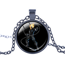 Best Ghost Rider Skull Necklace Cheap