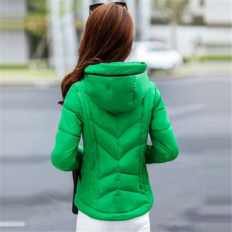 2016Winter Jacket New Women s Fashion Temperament Han Edition Cultivate One s Morality Short Cotton padded