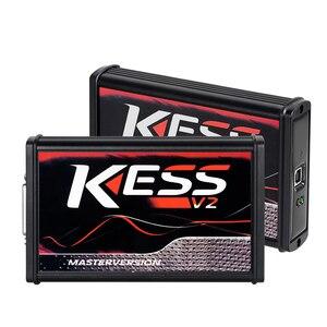 Image 2 - KTAG V7.020 Master K TAG 7.020 KESS V2 5.017 Red PCB Euro ECU Chip Tuning Tool K TAG Full Adapters OBD2 ECU Programmer