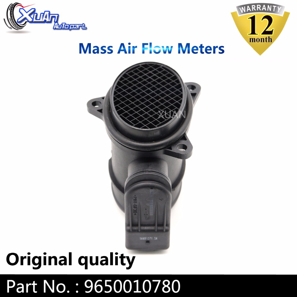 FITS FORD FIESTA V 1.6 TDCI 2004-ON MASS AIR FLOW SENSOR METER MAF 3M5A12B579BA