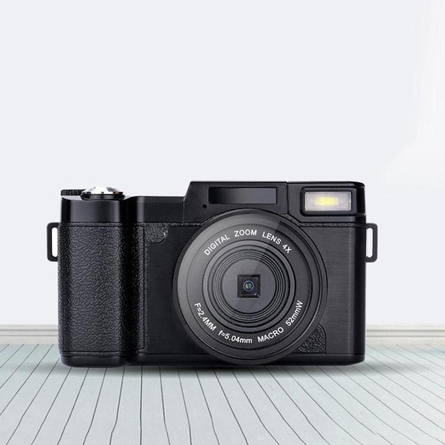 ЖК-цифровая камера Full HD 1080 P профессиональная видеокамера Vlogging камера хорошего качества