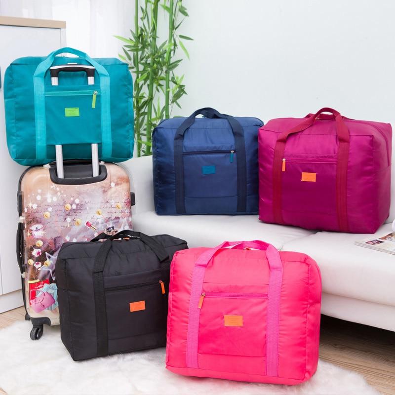 INHO CHANCY! Vikbar bärbar resväska nylon vattentät Resväskor - Väskor för bagage och resor - Foto 2