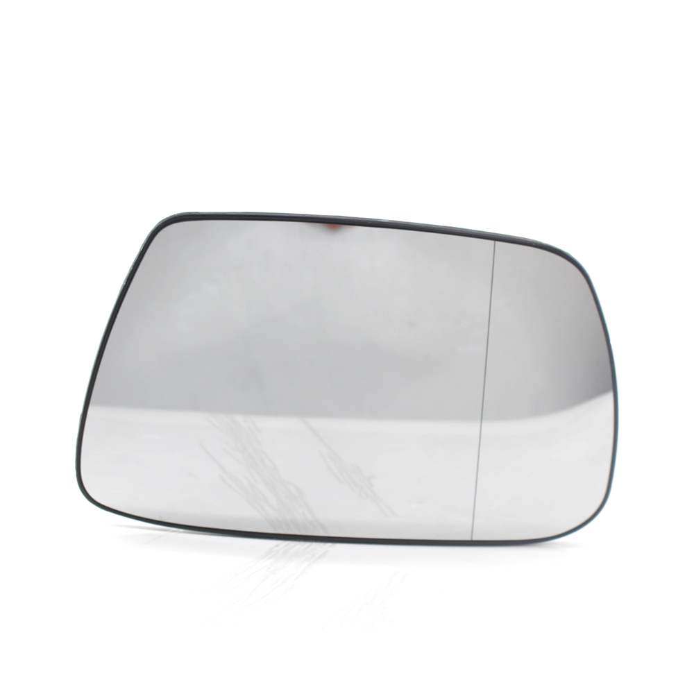 For Audi A6 2011-2018 Right Driver side wing door mirror glass with plate