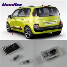 Liandlee For Citroen C3 Picasso 2009 Door Ghost Shadow Lights Car Brand Logo LED Projector Welcome Light Courtesy Doors Lamp liandlee car door ghost shadow lights for acura mdx acura zdx courtesy doors lamp brand logo led projector welcome light