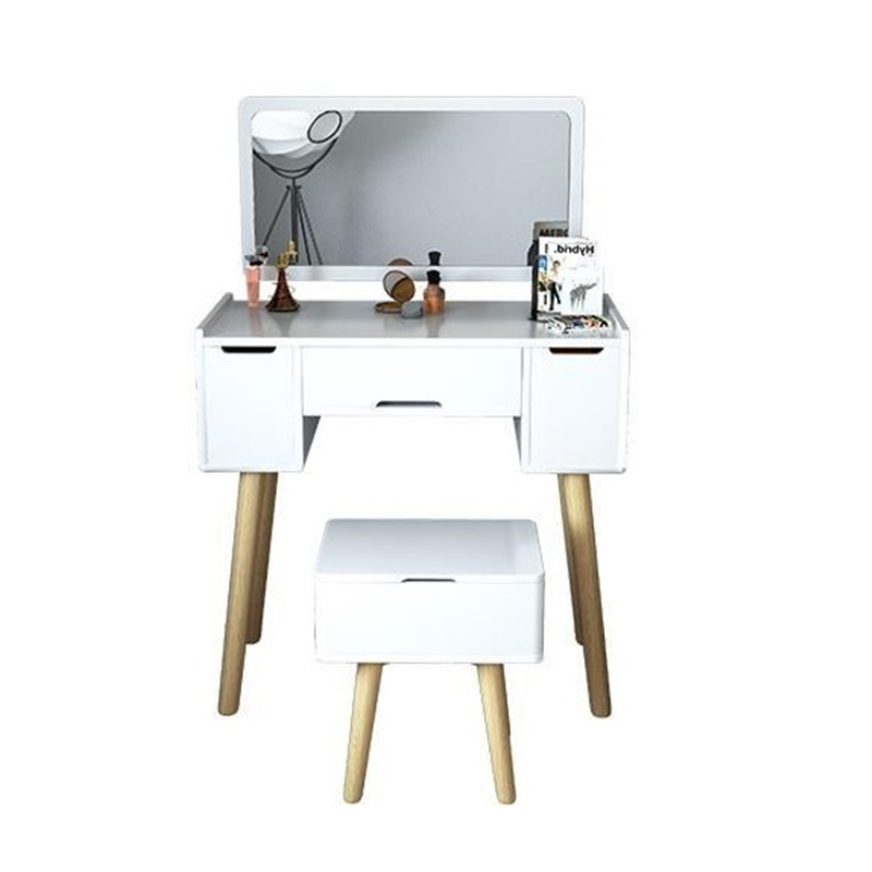 Nordic small apartment simple Jane European bedroom dresser table home desk my apartment