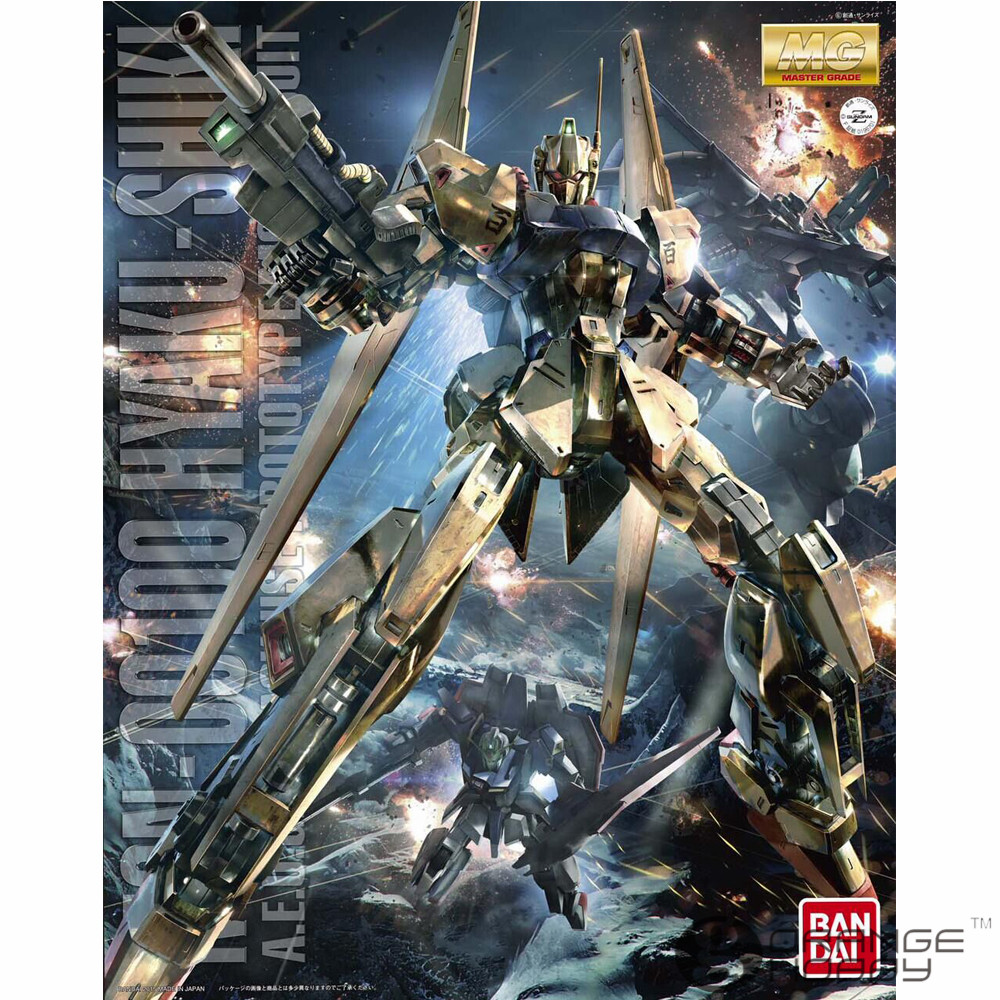 OHS Bandai MG 187 1/100 MSN-00100 Hyaku-Shiki Ver. 2.0 Mobile Suit Assembly Model Kits oh ohs bandai sw 1 6 yoda assembly model kits