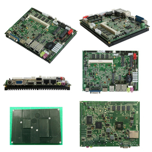 Image 2 - 3.5 inch Embedded Motherboard with 2*SATA 6*COM 6 USB Intel Atom N2800 processor x86 mini itx Mainboard