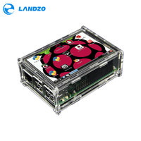2016 Original 3 5 LCD TFT Touch Screen Display With Acrylic Case Compatible For Raspberry Pi