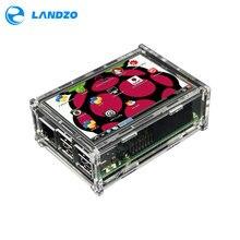 """3.5 дюймов дисплей 3.5 """"ЖК-дисплей TFT Сенсорный экран Дисплей для Raspberry Pi 2/Raspberry Pi 3 Модель B доска + акриловый чехол + Стилусы"""