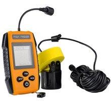 2017 NEW STYLE Fish Finder Echo Sounder Pesca Portable Fish Finder Clock Sonar Sounder Alarm Waterproof Carp Fishing 100M Pesca