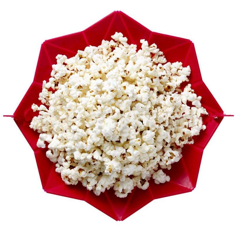 Novinka DIY popcorn Kbelík Microwaveable Popcorn Maker Skládací - Kuchyně, jídelna a bar