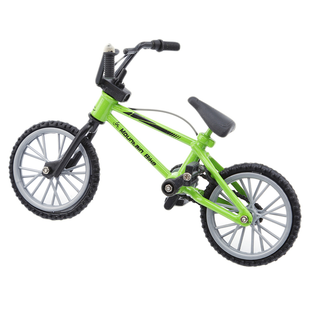 Fingerboard Bicycle Toys With Brake Rope Blue Simulation Alloy Finger Bmx Bike Children Gift Mini Size HOT Sale