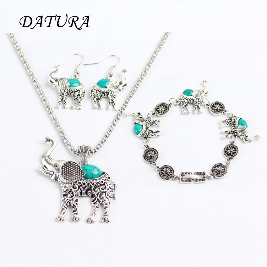 Costume Jewellery Jewellery & Watches Elephant Necklace And Earrings