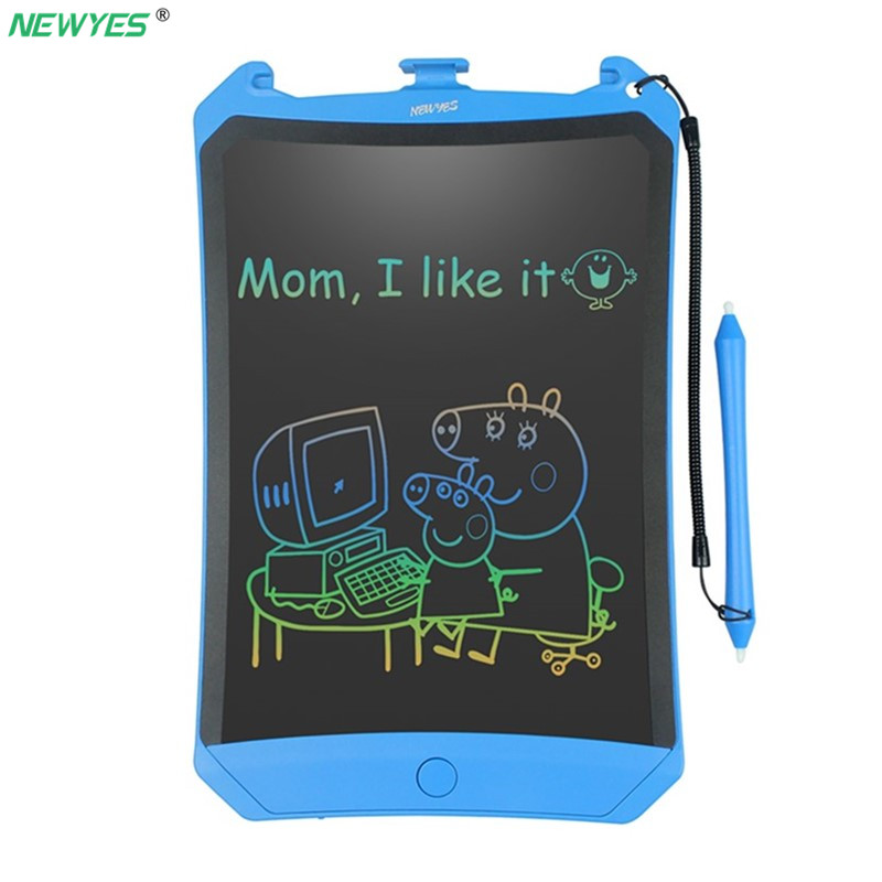 NEWYES 8.5 Colorful Screen Robot Writing Tablet LCD Tablet Drawing Pen Writing Message Board Handwriting Pads Memo BoardNEWYES 8.5 Colorful Screen Robot Writing Tablet LCD Tablet Drawing Pen Writing Message Board Handwriting Pads Memo Board