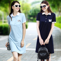 100872017 Summer New Model Real Cat POLO TB Europe And The United States Women S Casual