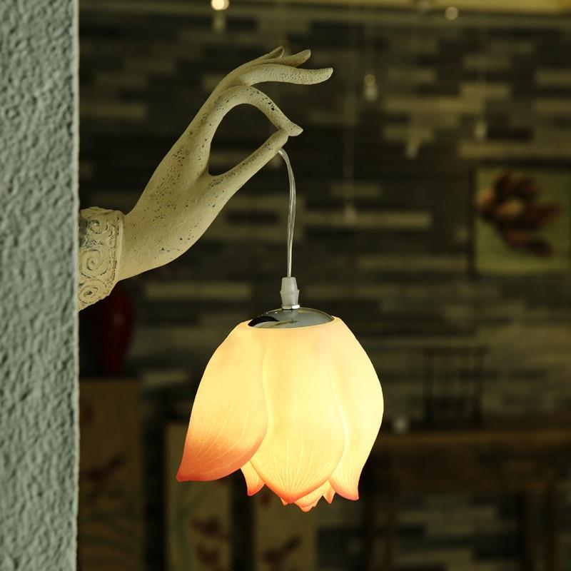 Новый китайский стиль столовая спальня прикроватная лампа настенная лампа Настенный светильник украшение художественный зал отель