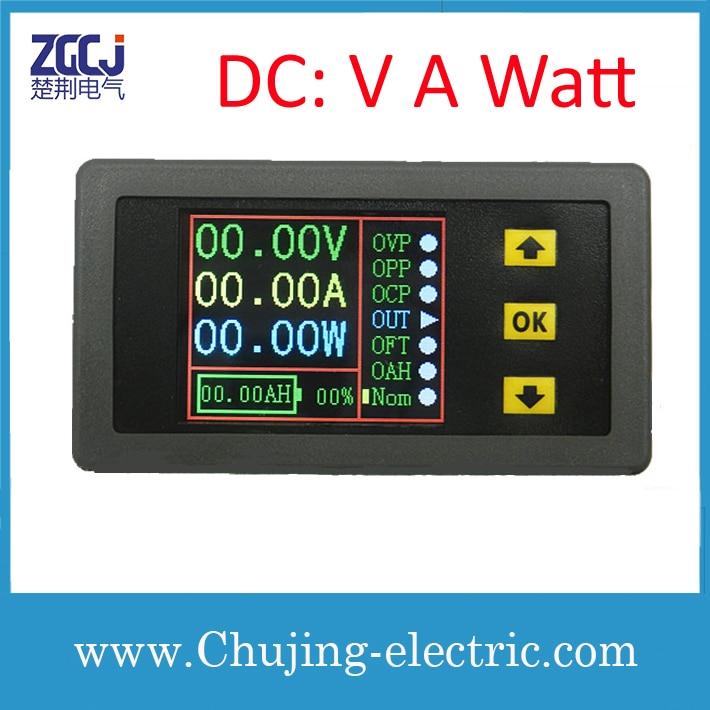 Watt Meter Price List: LCD Display DC A V Watt Measuring Meter Display DC Ampere