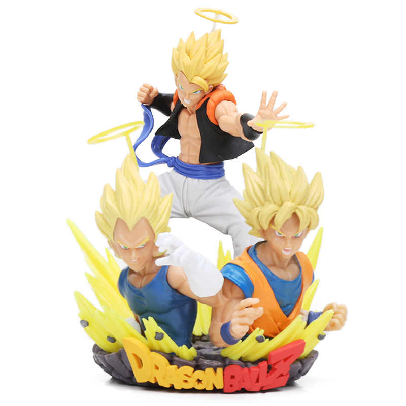 15-20cm Dragon Ball Z Toys Super Saiyan Vegeta Son Goku Gogeta PVC Action Figure Dragonball Toy Collectible Model Dolls Toy