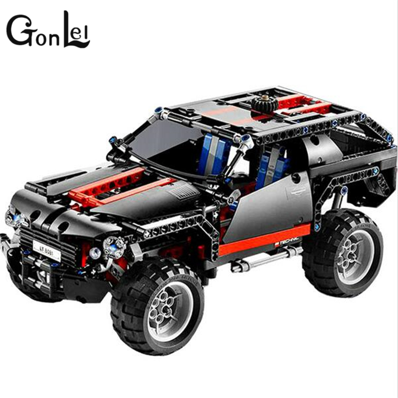 GonLeI Decool 3341 Technic Extreme Cruiser Block Brick Toy Set Boy Game Car Off Roader Compatible with 8081 kids toys