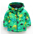 2014 new arrive Topolino mouse children outerwear High Quality male child plus velvet trench baby outdoor jacket