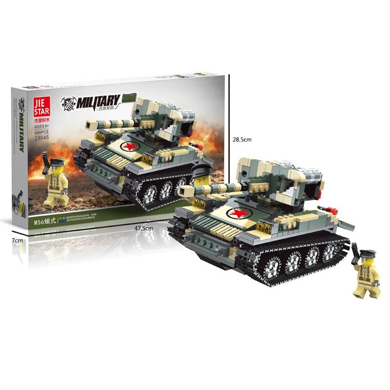499pcs Military Toy Tank Blocks Enlighten Building Blocks Early Plastic Toy for Boys Figures Bricks Children Gifts K0394-29045 8 in 1 military ship building blocks toys for boys