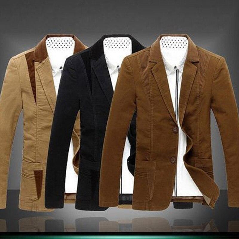 7XL 6XL בתוספת גודל של גברים קלאסיים איש סתיו טרייל חליפת Slim fit בלייזר masculino jaqueta masculina מגניב טרנדי 72202