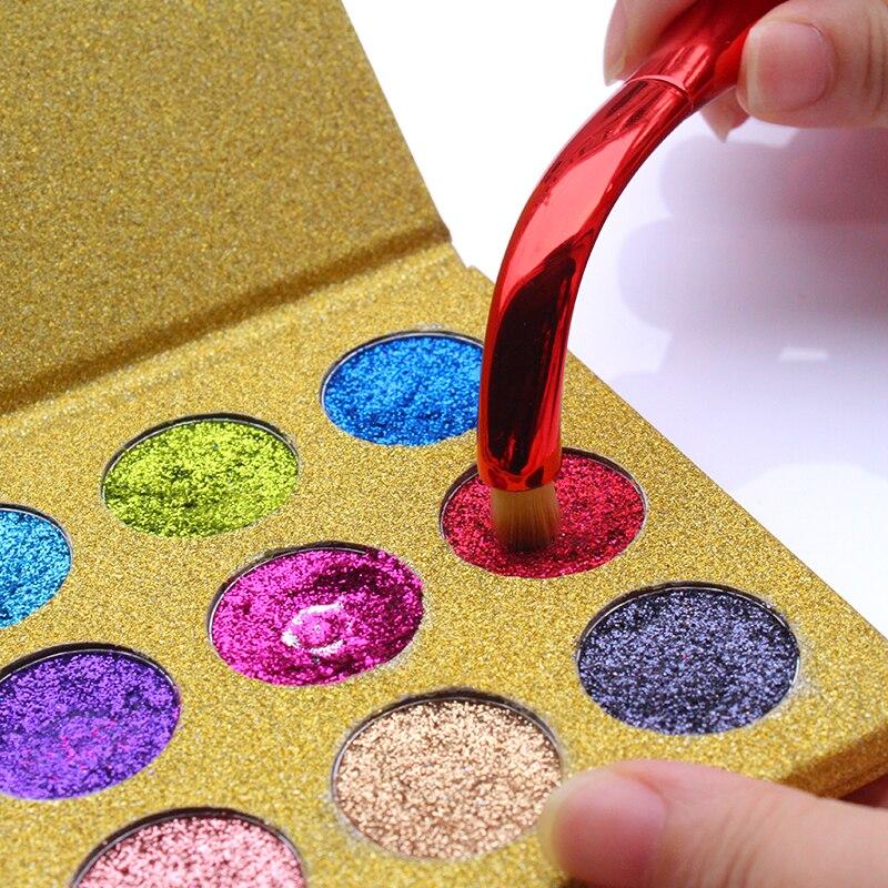 IMAGIC Glitters Eyeshadow Paleta cieni do powiek 12 kolorów Paleta - Makijaż - Zdjęcie 4