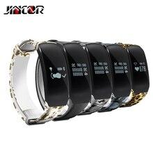 Jincor H5 браслет IP67 Водонепроницаемый интеллектуальное отслеживание браслет Фитнес сердечного ритма Напульсники smartband для iOS и Android