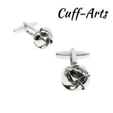 Cufflinks for Men Knot Cufflinks For Men Fashion Knot Design Top Quality Brass Hotsale With Gift Box  By Cuffarts C20078
