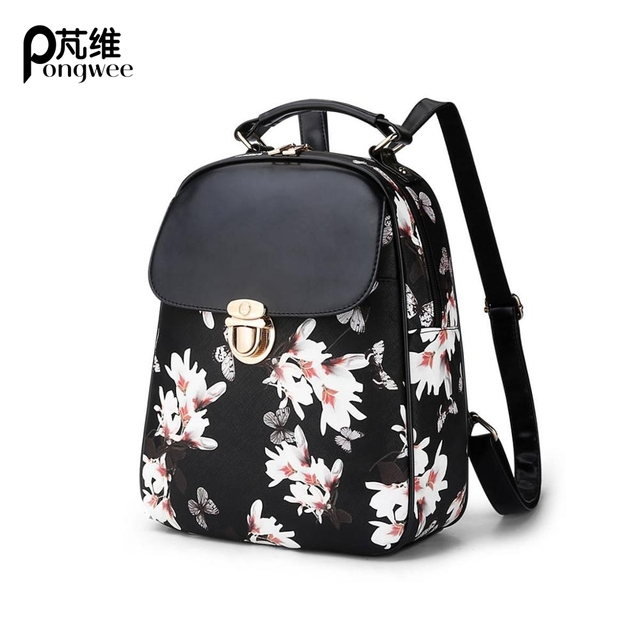 PONGWEE High Quality School Backpacks For Teenage Girls Best Gifts ...