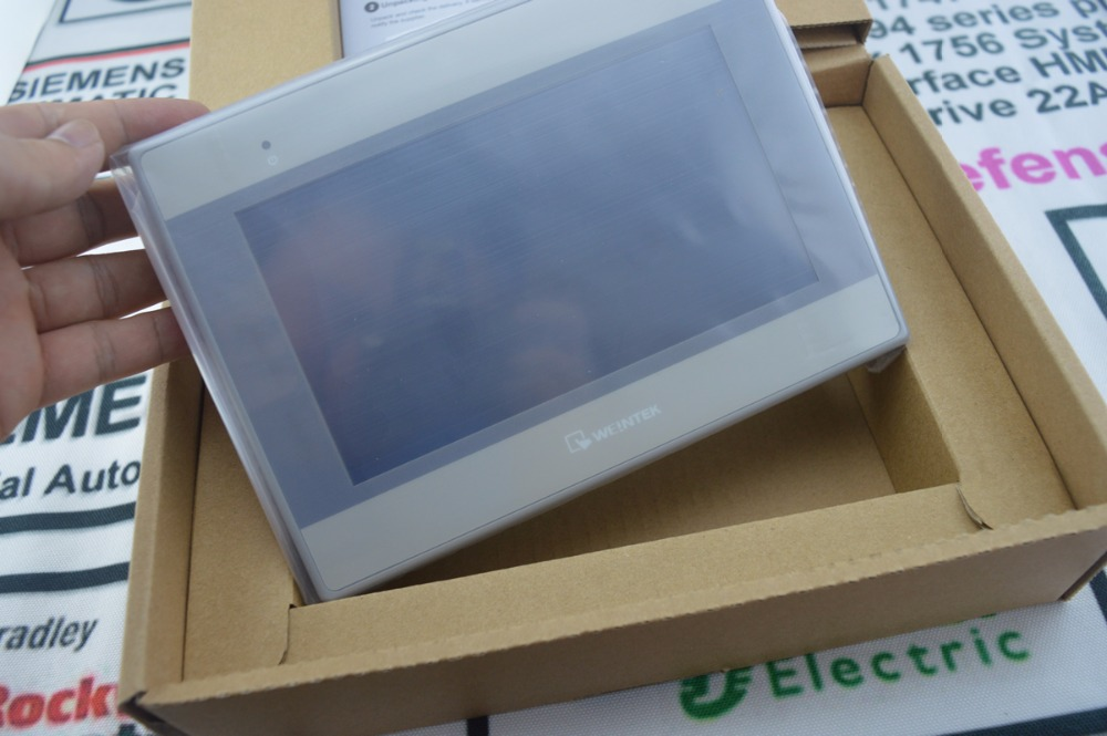 WEINTEK HMI 7 цветной TFT MT8071IE ETHERNET (совместимый с ALLEN BRADLEY PLC'S), быстрая доставка