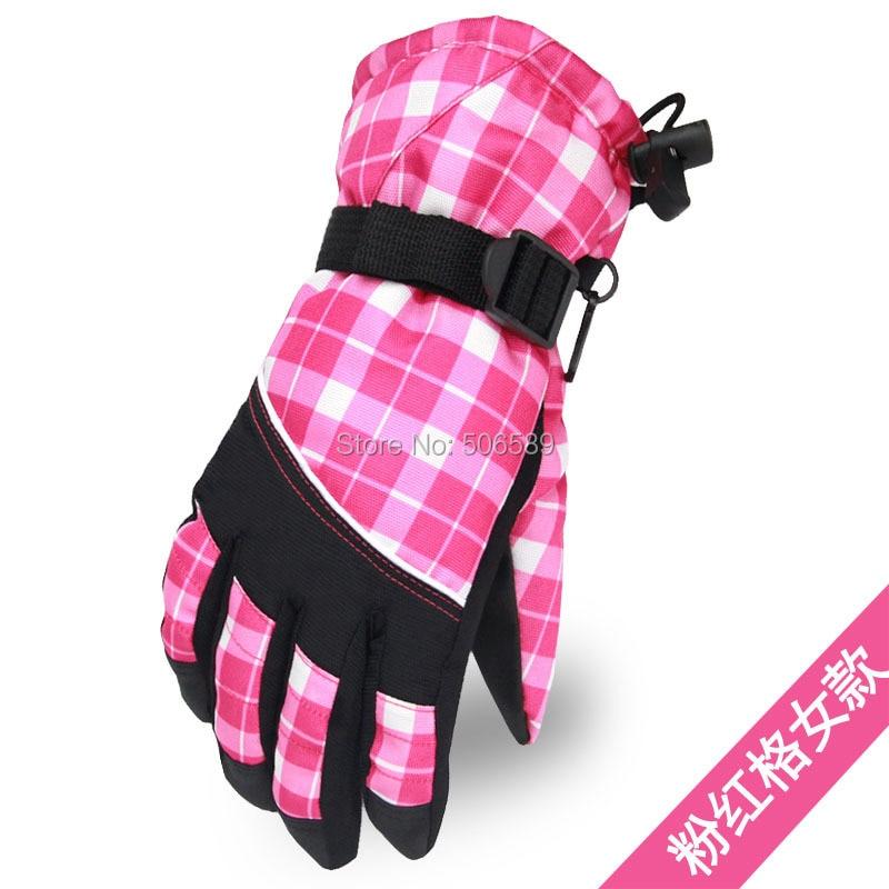 free shipping womens gloves winter hiking biking skiing gloves NB1401 water-proof average size taslon