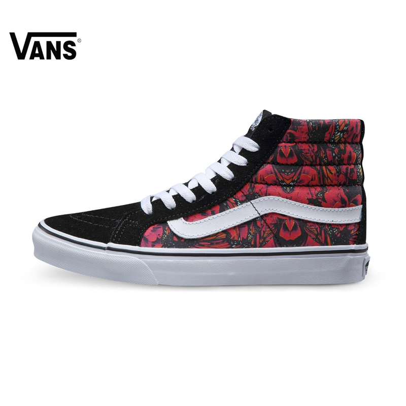 Original vans new arrival High-Top women's skateboard shoes Sport shoes canvas sneakers free shipping цена