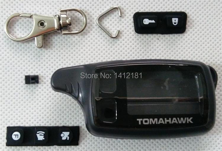 Wholesale TW9010 Case Keychain For Tomahawk TW-9010 TW-9030 TW-9020 LCD Remote Control Key Fob TW 9010 9030 9020,TW9030,TW9020